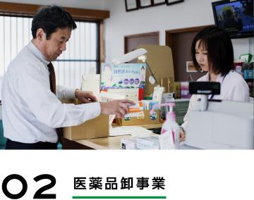 02 医薬品卸事業